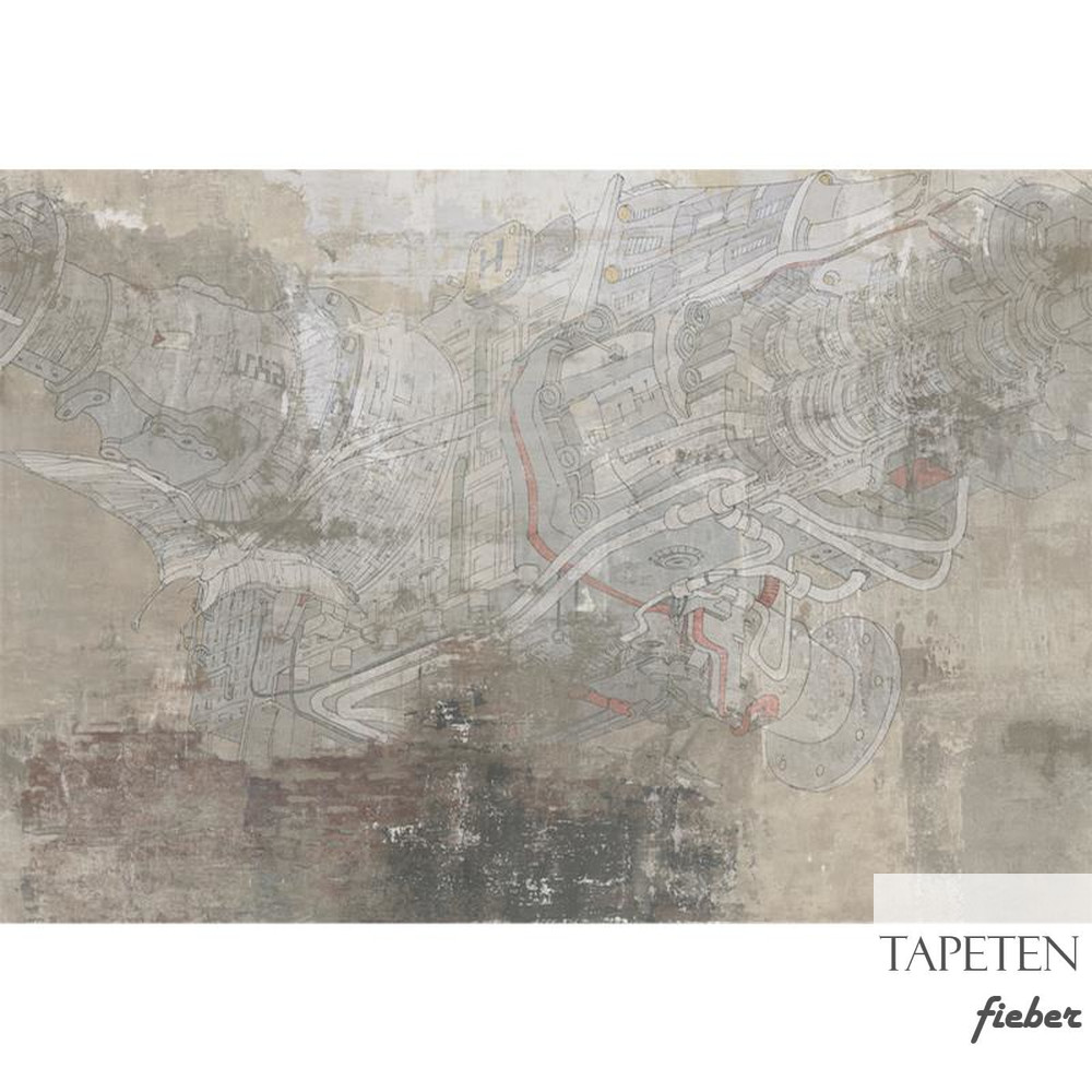 Design Tapete SALISBURY DREAM Modern Affresco 67393-1